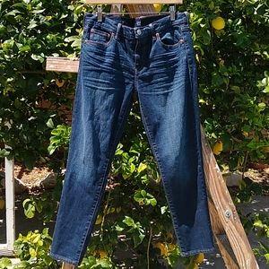 Gap Best Girlfriend Straight Denim Jeans 29